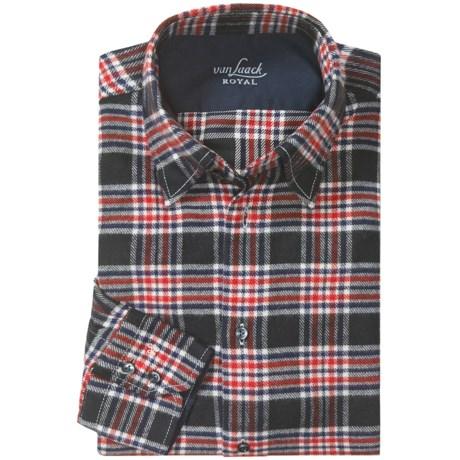 Van Laack Flannel Sport Shirt - Long Sleeve (For Men)