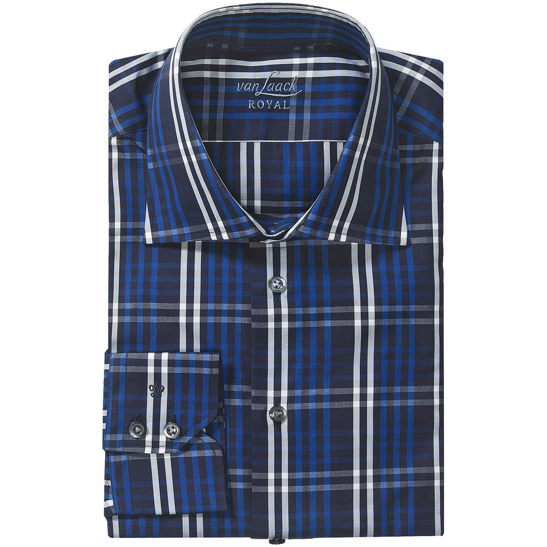 van laack reda tailored fit shirt for men 5231r save 73. Black Bedroom Furniture Sets. Home Design Ideas