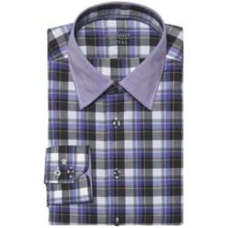Van Laack Remco Tailored Fit Shirt - Spread Collar, Long Sleeve (For Men)