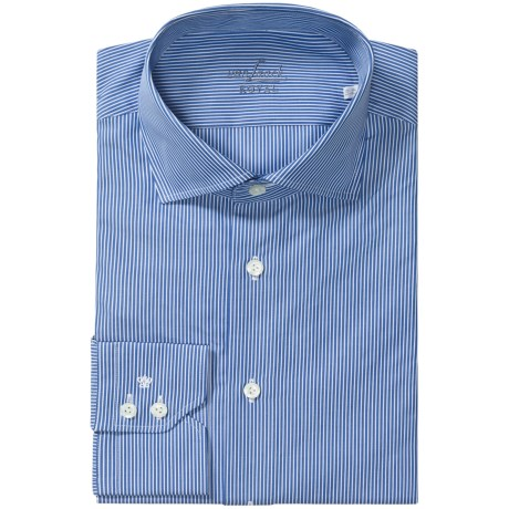 Van Laack Rivara Stripe Shirt - Long Sleeve (For Men)