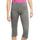 White Sierra Paulucci Yoga Capris (For Women)
