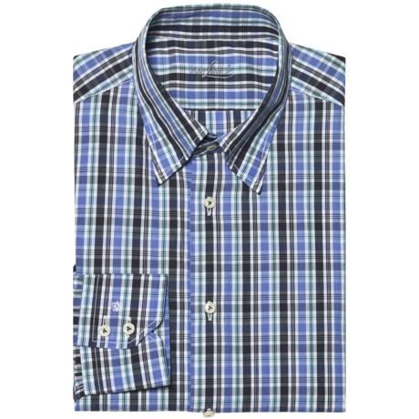 Van Laack Radici Tailored Fit Shirt - Hidden Button-Down Collar, Long Sleeve (For Men)
