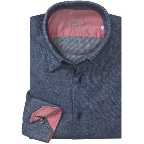 Van Laack Radici Flannel Sport Shirt - Tailored Fit, Long Sleeve (For Men)