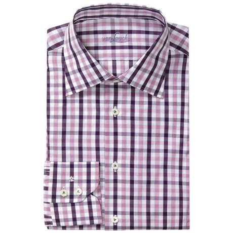 Van Laack Rigo Check Shirt - Tailored Fit, Long Sleeve (For Men)
