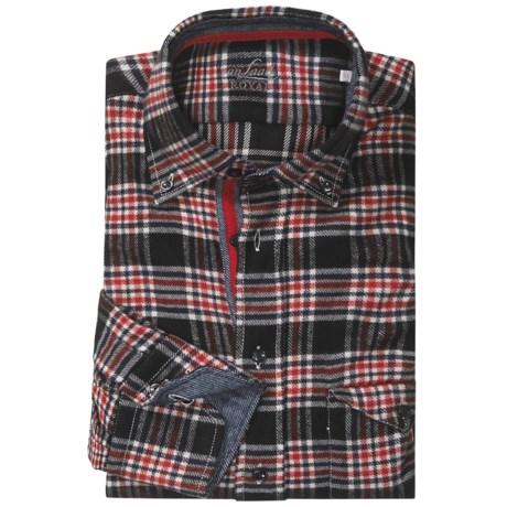 Van Laack Tailor Fit Flannel Sport Shirt - Long Sleeve (For Men)