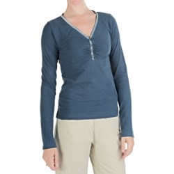 Kuhl Kulla Henley Shirt - Organic Cotton, Long Sleeve (For Women)