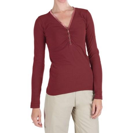 Kuhl Kulla Henley Shirt - Organic Cotton, Long Sleeve (For Women)