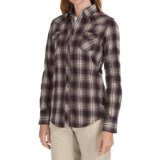 Kuhl Sheridan Flannel Shirt - Long Sleeve (For Women)