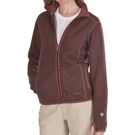 Kuhl Tara Jacket - Alfpaca Fleece (For Women)