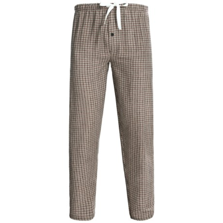 Northwest Blue Flannel Lounge Pants (For Men)