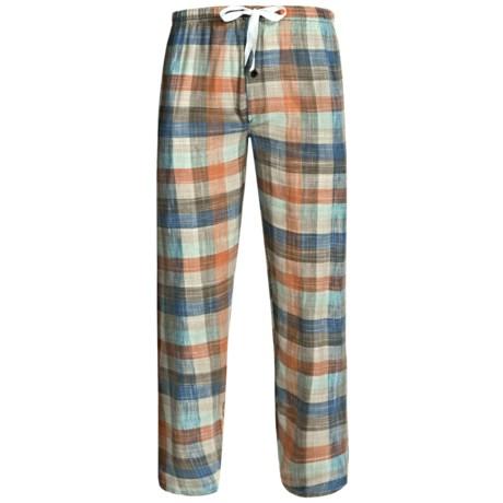 Northwest Blue Flannel Lounge Pants (For Men)