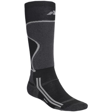 Point6 FA Ski Socks - Merino Wool, Midweight, Over-the-Calf (For Men and Women)