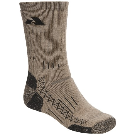 Point6 All Mountain Crew Socks - Merino Wool, Heavyweight (For Men And Women)