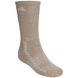 Point6 Hiking Crew Socks - Merino Wool, Lightweight (For Men and Women)