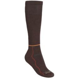 Point6 Surefoot Pro Flutterby Ski Socks - Merino Wool, Lightweight, Over-the-Calf (For Women)