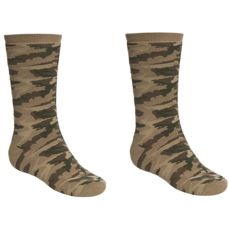 Saddlebred Camo Crew Socks - 2-Pack, Crew (For Men)