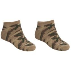 Saddlebred No-Show Outdoor Socks - 2-Pack, Below-the-Ankle (For Men)
