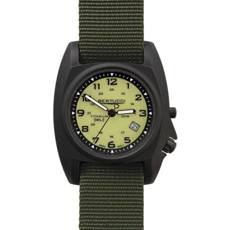 Bertucci B-1T Sculpted Titanium Watch - Nylon Band