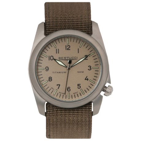 Bertucci A-4T Vintage 44 Aero Watch - Nylon Band