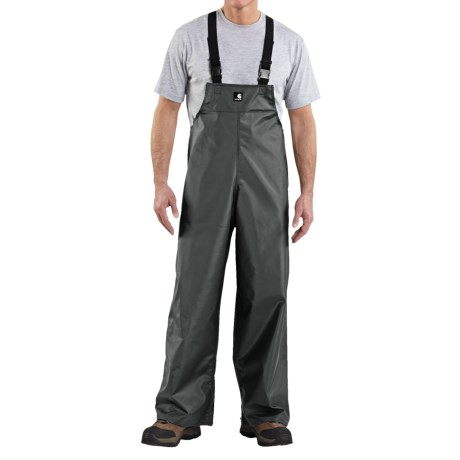 Carhartt Lightweight PVC Rain Bib Overalls (For Men)