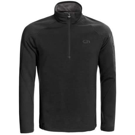 Icebreaker RealFleece 260 Sierra Shirt - Merino Wool, Zip Neck, Long Sleeve (For Men)