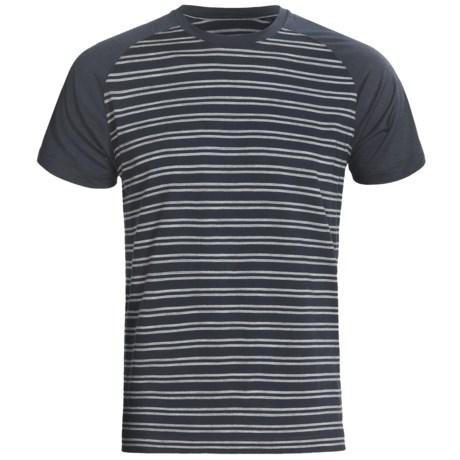 Icebreaker Superfine 200 Hopper Shirt - Merino Wool, Short Raglan Sleeve (For Men)