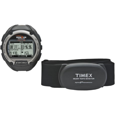 Timex Ironman Global Trainer GPS Sports Watch with Heart Rate Monitor