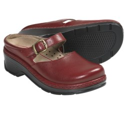 Klogs LaJolla Mary Jane Clogs - Leather (For Women)