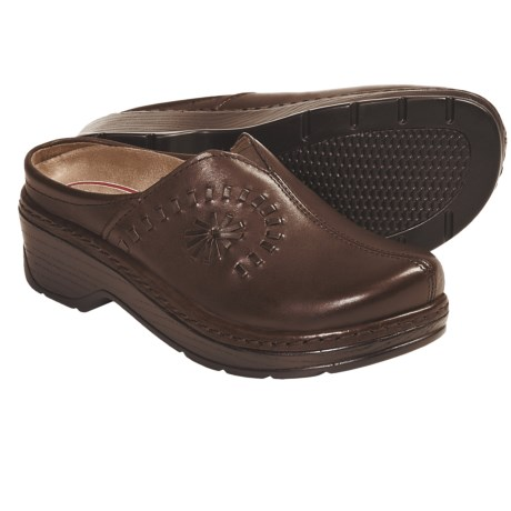Klogs Portofino Open Back Clogs - Leather (For Women)