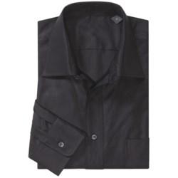 Spread Collar Sport Shirt - Long Sleeves (For Men)