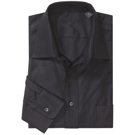 Specially made Spread Collar Sport Shirt - Long Sleeves (For Men)