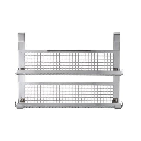 Rosle Double Shelf Spice Rack - Stainless Steel