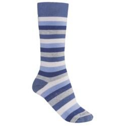 Carhartt Vibrant Stripe Boot Socks - Midweight, Mid-Calf (For Women)