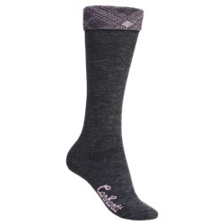Carhartt Plaid Cuff Knee-High Socks - Lightweight (For Women)