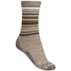 Carhartt Striped Crew Socks - Merino Wool, Lightweight (For Women)