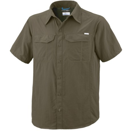 Columbia Sportswear Silver Ridge Shirt - UPF 50, Short Sleeve (For Big Men)