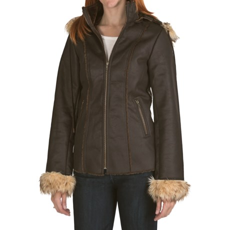 Powder River Outfitters Thames Coat - Removable Hood (For Women)