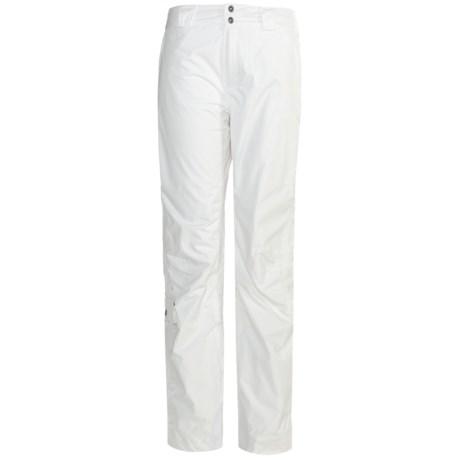 Columbia Sportswear Canal Street Snow Pants - Waterproof, Insulated, Titanium (For Women)