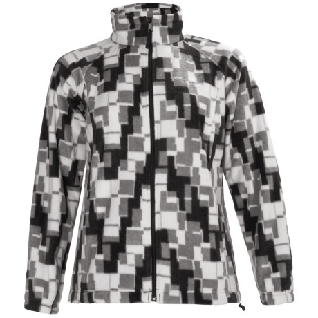 Columbia Sportswear Benton Springs Print Jacket - Fleece (For Plus Size Women)