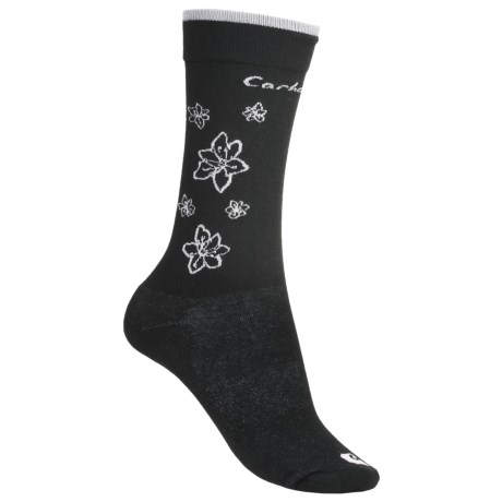 Carhartt Floral Print Socks - Lightweight, Crew (For Women)