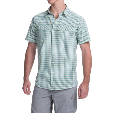 Columbia Sportswear Silver Ridge Plaid Shirt - UPF 30, Short Sleeve (For Men)