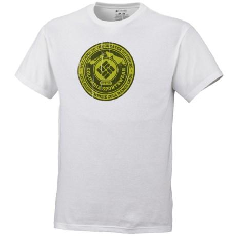 Columbia Sportswear Greater Outdoors Shirt - UPF 15, Short Sleeve (For Men)
