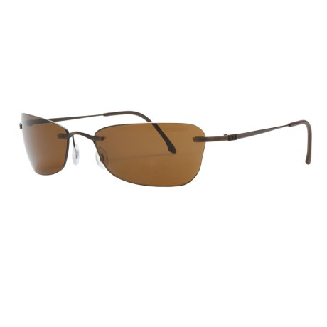 Adidas P3S Sunglasses - Polarized, Rimless