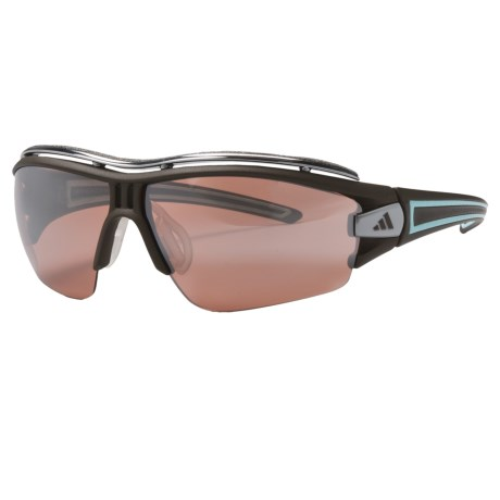 Adidas Evil Eye Half Rim Pro Sunglasses - Small, Additional Lenses Included