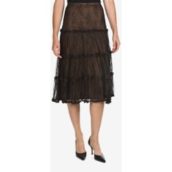 Lacy Broomstick Skirt (For Women)