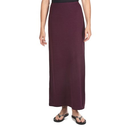 Long Jersey Skirt (For Women)