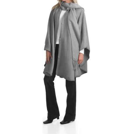 San York Pure Alpaca Cape (For Women)