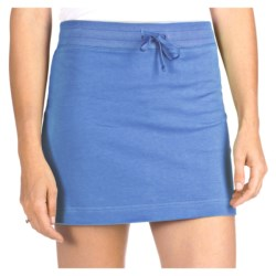 French Terry Athletic Skirt - Stretch Cotton (For Women)