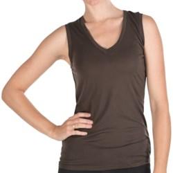 Pure Modal V-Neck Tank Top (For Women)