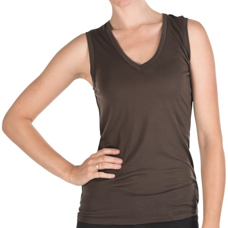 Specially made Pure Modal V-Neck Tank Top (For Women)